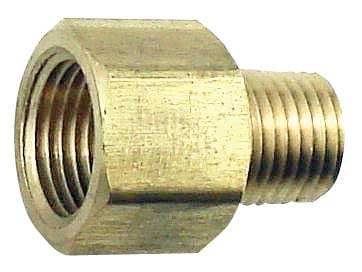 Male Left hand to Female Right hand Pipe Adapter