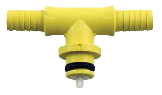 "ShurFlo Plastic ""T"" Gas Fitting"