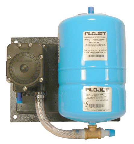 FloJet Water Booster Pump w/ Tank