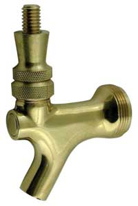 Standard Faucet - Abeco - Antique Brass w/ Brass Lever