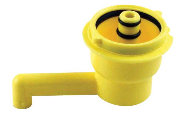 Lancer Yellow 2 Prong Soda Syrup Separator
