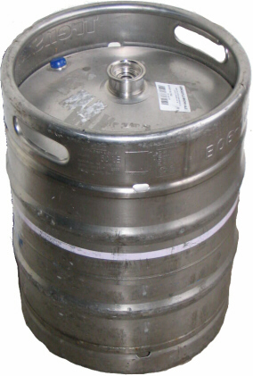 Sanke - 50Ltr Straight Sided Keg
