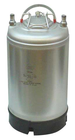 2-1/2 Gallon Ball Lock Keg - NEW
