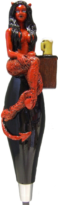 Devil Maiden Tap Handle