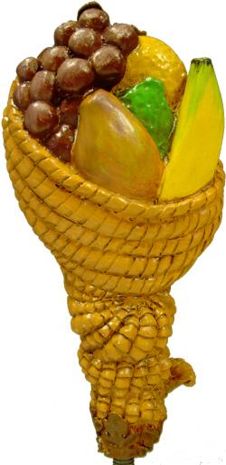 Fruit Horn Tap Handle