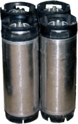 Ball Lock Kegs - 4 Pack