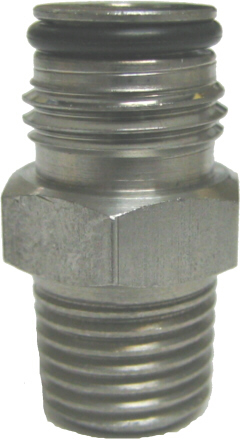 "Adapter - Firestone Gas Keg Post - 1/4""MPT x 9/16-18"""