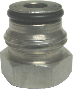 "Adapter - Firestone Liquid Keg Post - 1/4""FFL x 5/8-18"""