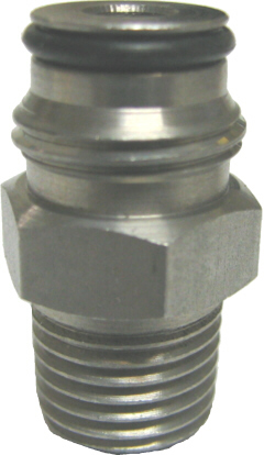 "Adapter - Firestone Liquid Keg Post - 1/4""MPT x 5/8-18"""