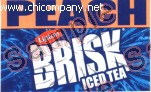 Brisk Iced Tea - Peach - Small