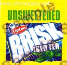 Brisk Iced Tea - Unsweetened - Medium
