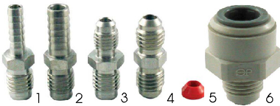 Cold Plate Fittings