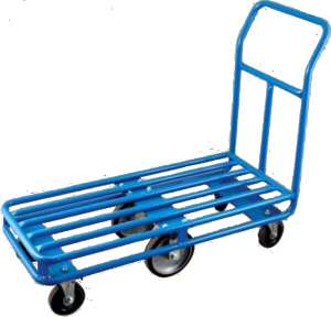 Wesco 6-Wheel Stocking Cart