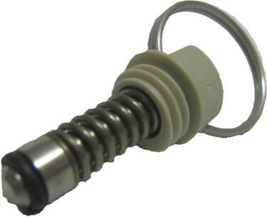 Pull Ring Pressure Relief Valve - Gray