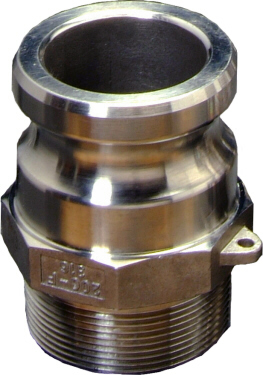 "Male SnapLock - 1/2"" MPT end"