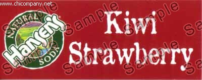 Hansen's - Kiwi Strawberry