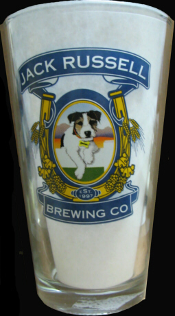 Jack Russell 16oz. Pint Glass