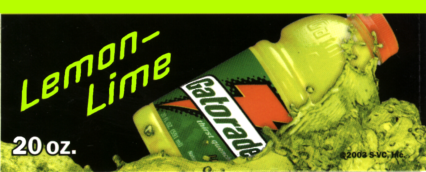 VStrip - Gatorade Lemon Lime 20oz