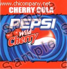 Pepsi Wild Cherry Fountain Strip