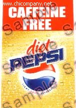 Pepsi Diet Caff Free Fountain Strip Large