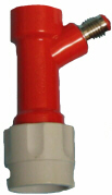 "QD - Pin Lock - Gas in - 1/2""-16 MFL"
