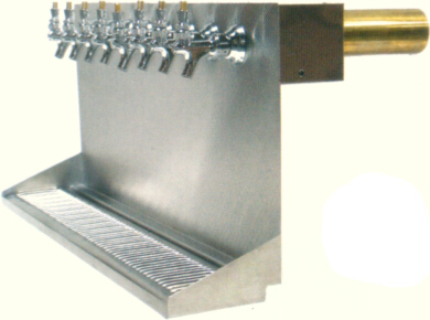 Wall Mount Drip Tray w/ Cooler Box