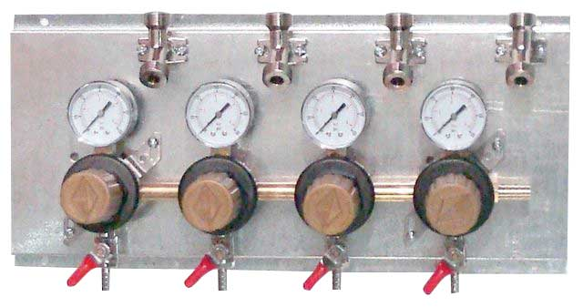 Secondary Regulator Panel - 2 Regulators