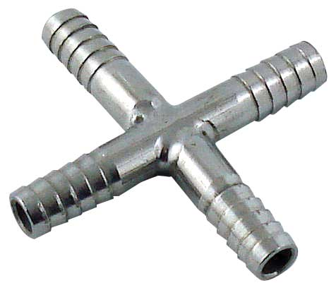 "Barbed Hose ""X"" - Cross"