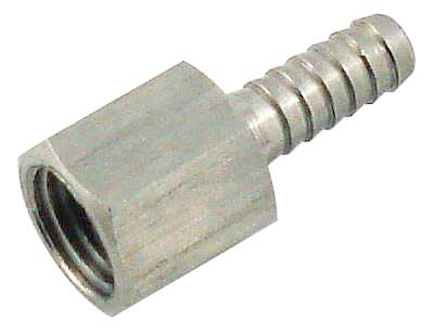 Female Pipe Hose Stem - Barbed End