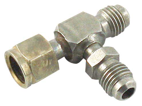 "Flare Male Swivel Nut Branch ""T"""