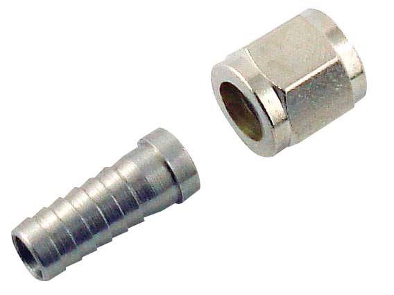 "Swivel Nut Set - 1/4"" x 5/16"" Barb"
