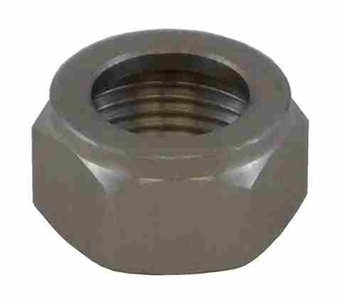 Beer Shank Nut - Stainless Steel Hex Deluxe