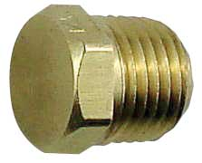 "Hex Plug - 1/4"" Right Hand Thread"