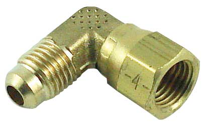 Elbow Swivel - Male Flare Thread to Female Flare Swivel