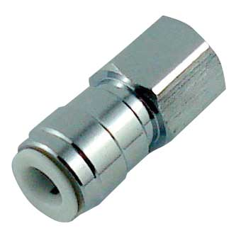 Push-On Female Flare Adapter