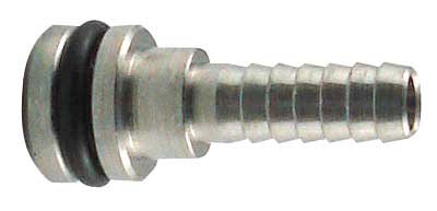"Flojet Liquid - Straight 3/8"" Barbed End"