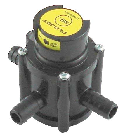 Flojet Tranfser Valve - Side Port - High Altitude