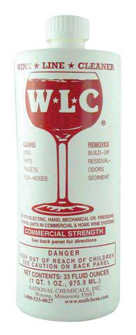 W-L-C - Super Concentrated WINE Line Cleaner