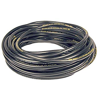 "BevLex 200 3/16"" I.D. Beverage Hose 100Ft. Roll BLACK"