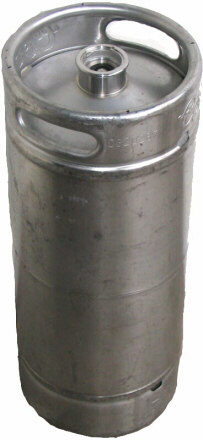 5g Sanke SS Straight Sided Keg