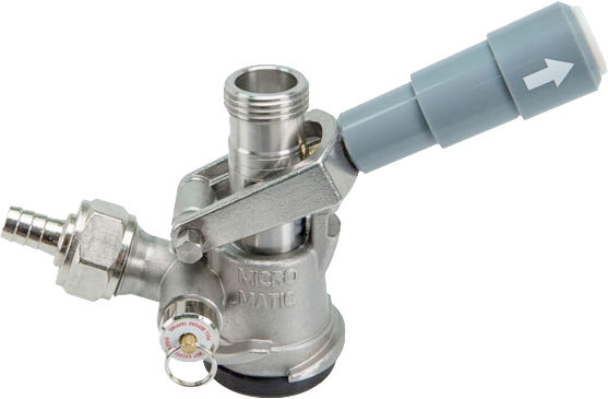 Wine Keg Tap - MicroMatic [SS Keg Tap - MM-7485SS] : The CHI Company ...