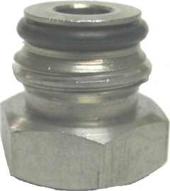 "Keg Post Adapter 1/4""FFL x 9/16-18"""