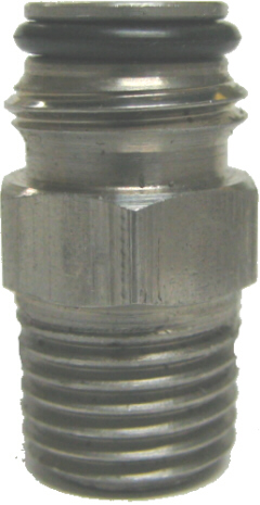 "Keg Post Adapter 1/4""MPT x 9/16-18"" (Dc. / Limited Stock)"