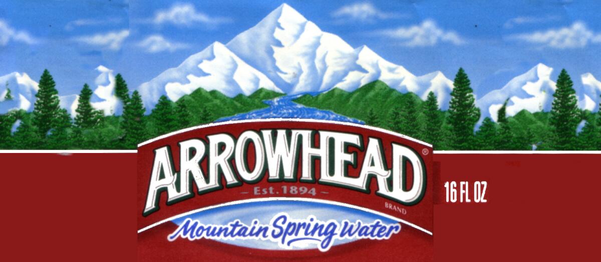 Arrowhead Mtn Spring Water Arrowhead Flvrstrip Magnum