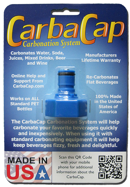 CarbaCap PET Bottle Carbonator
