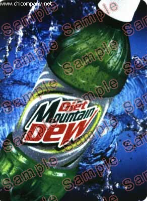 HVV Flavor Strip Diet Mountain Dew
