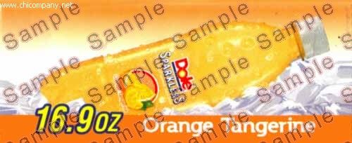 Dole Sparklers Orange Tangerine Flavor Strip