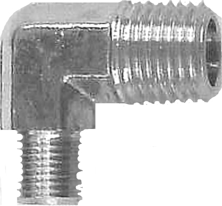 Elbow Reducer - Male Pipe Thread to Male Pipe Thread