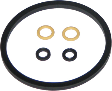 5-Piece Gasket Set for SMALL Race Track Lids