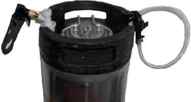 Party Keg with Picnic Faucet Package